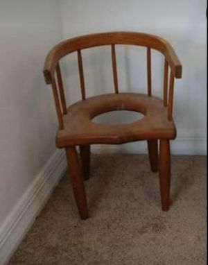 One of a kind antique wood potty chair for Sale in Brandon, FL