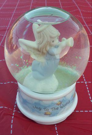 Christmas Precious Moments Musical Snow Globe for Sale in Pico Rivera, CA