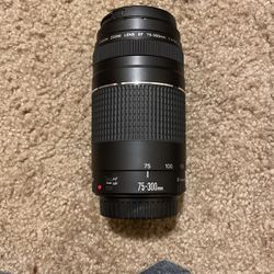 Canon EF 75-300mm Lens for Sale in Ellensburg,  WA