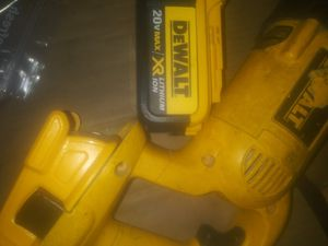 Dewalt 20v drill & 20v sawzall for Sale in Eddington, PA