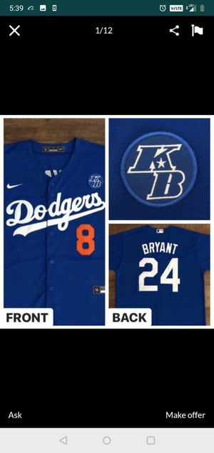 DODGERS KOBE BRYANT for Sale in Commerce, CA
