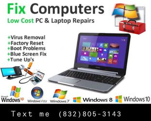 Computer Repair 👨‍🔧 for Sale in Houston,  TX