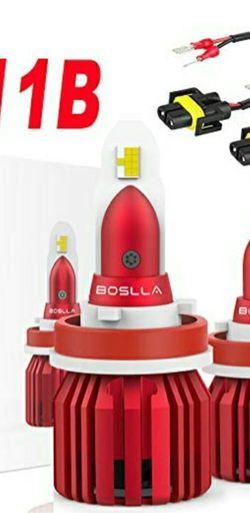 Boslla LED Headlights H8, H9, H11, H11B for Sale in Warren,  NJ