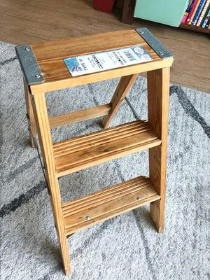 Babcock Wooden Step-Ladder for Sale in Seattle, WA