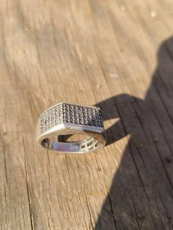 Diamond Men's Ring 1/4ct for Sale in McClellan Park,  CA