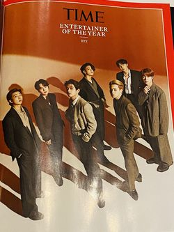 BTS TIME Person Of The Year Entertainer Of The Year 2020 Magazine for Sale in Silver Spring,  MD
