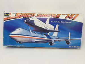 SPACE SHUTTLE ORBITER ENTERPRISE & BOEING JET 747,Plastic Model Kit,Scale:1/144 for Sale in South El Monte, CA