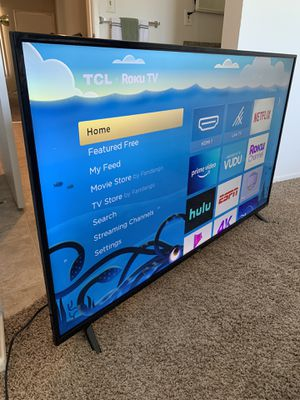 """TCL 55"""" TV 55S425 for Sale in Los Angeles, CA"""