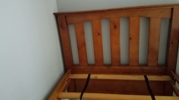 Twin size bunk beds