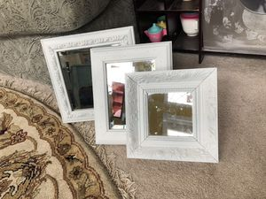 ‏Set Of Three Shabby Chic Wooden Mirror for Sale in Gainesville, VA