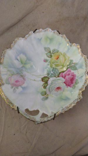 Porcelain flower dish for Sale in Hudson Oaks, TX