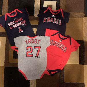 Angels/ Mike Trout Onesies for Sale in Nuevo, CA