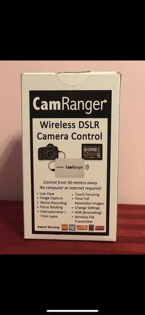 CamRanger wireless DSLR Camera Control for Sale in Queens, NY