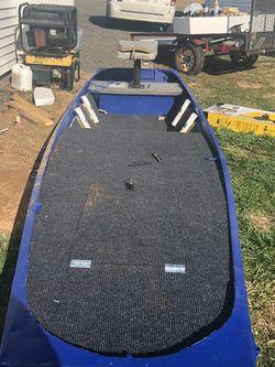 Jon Boat Rebuilt To Bass Boat for Sale in Remington,  VA