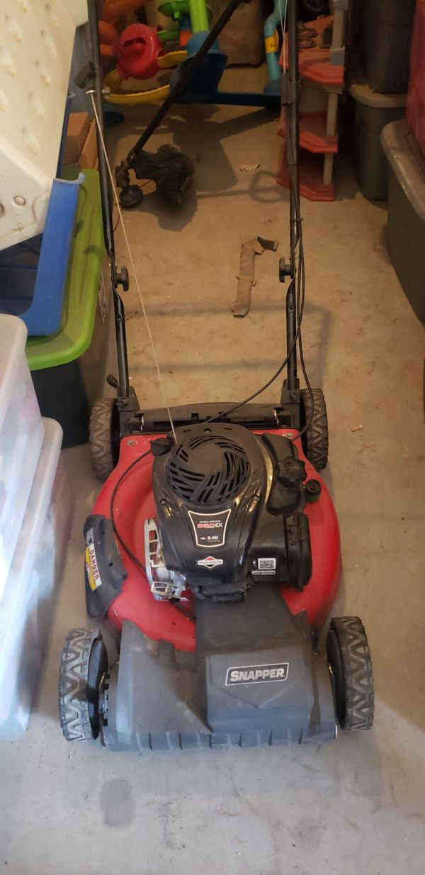 Lawnmower Briggs and Stratton 550 ex series