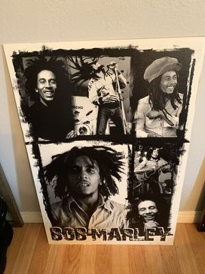 """Wall picture """"Bob Marley"""" for Sale in Garden Grove, CA"""