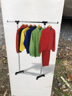 NEW EXTENDABLE GARMENT RACK for Sale in Jessup, MD