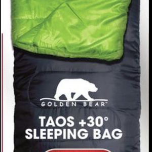 (5) Taos Sleeping Bags 30° Like New for Sale in Florence, AZ
