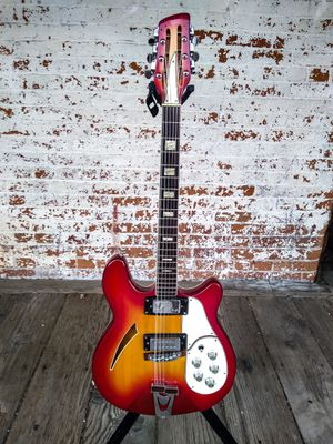 Univox Rickenbacker 360 12 String Semi Hollowbody Copy MIJ for Sale in Loveland, CO