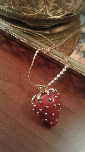 Vintage Strawberry Pendant for Sale in Greensboro, NC
