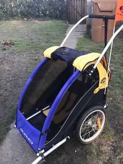 Burley Solo Kids Bike Trailer for Sale in Tacoma,  WA