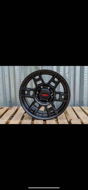 """Toyota TRD style rims tires set 17"""" for Sale in Hayward, CA"""