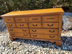 Queen bed frame and dresser for Sale in Hebron, CT
