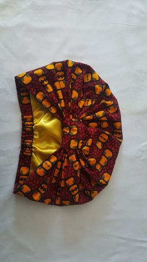 Satin lined African Print Turban for Sale in Sacramento, CA