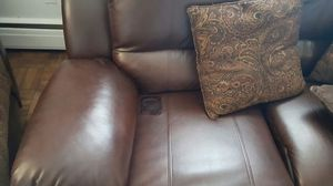 Great recliner couch and chase for Sale in Silver Spring, MD