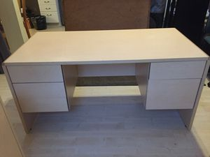 Desk & Billy Shelves (2) - Office Set for Sale in Edmonds, WA