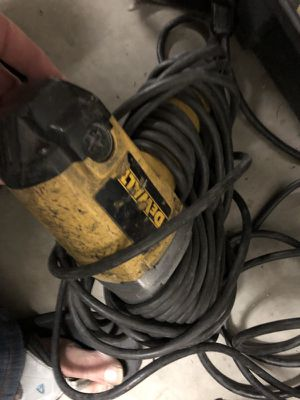 Dw290 impact wrench corded with extra long cord 25 ft for Sale in San Diego, CA