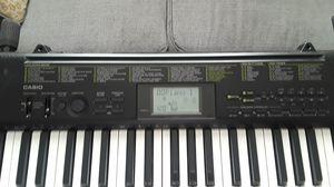 Casio portable piano with stand for Sale in San Bernardino, CA