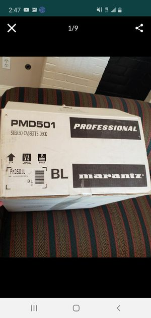 PMD501 Professional Stereo Casette Deck for Sale in Columbia, SC
