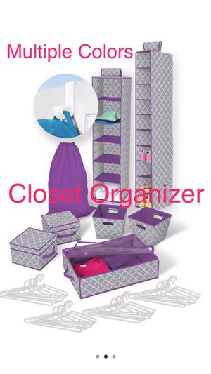 Great For Dorm!! 30 Piece Closet/Organization System for Sale in Hilliard, OH