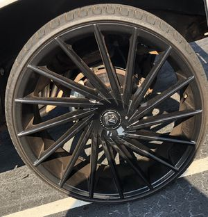26's Rims And brand New Tires. for Sale in Charlotte, NC