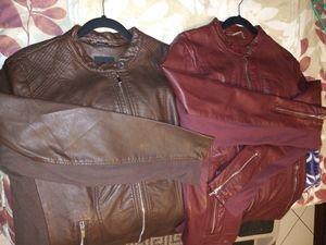 Motorcycle style jackets for Sale in West Covina, CA