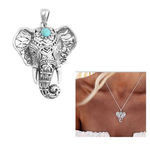New Retro Boho Tribal Luckly Elephant/Dream Catcher Tassel Pendant Vintage Necklace For Women for Sale in Raleigh, NC
