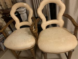 Vintage Wood 100% Bar stools with Back 47 in Tall for Sale in HALNDLE BCH, FL