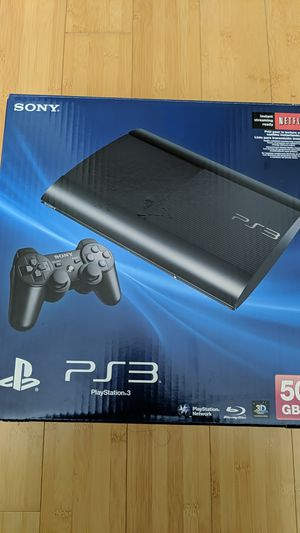 Sony PlayStation 3 - Super Slim for Sale in Seattle, WA