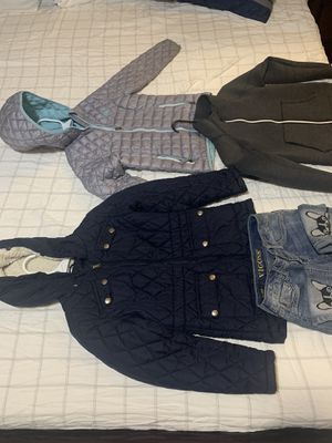 Girls' clothes are warm and beautiful, there are things that have not been used at all, and the other is little used, but they are in good condition for Sale in Maple Valley, WA