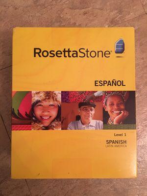 Rosetta Stone Spanish Level 1 for Sale in Riverview, FL