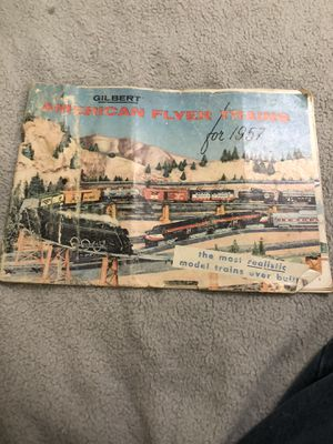 (Vintage) 1957 Gilbert American Flyer trains for Sale in Dubuque, IA