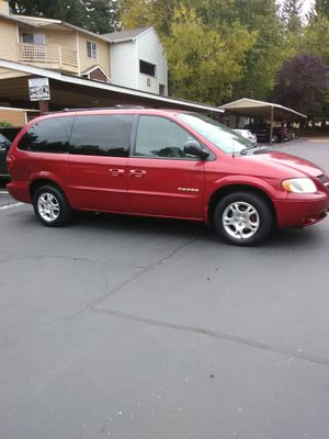 2002 Dodge Grand Caravan sport fully loaded runs and drives great low miles 125k one owner for Sale in Everett, WA