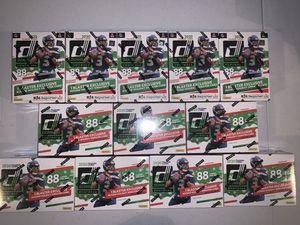 Lot of 12 - 2020 Panini Donruss Football Holiday Blaster Box for Sale in Las Vegas, NV