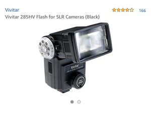 Used Vivitar 285HV Flash for SLR camera for Sale in Cerritos, CA