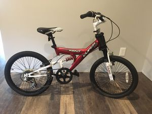 """Kent Super Boys Bike 20"""" with very comfortable suspension/shocks for Sale in Simpsonville, SC"""