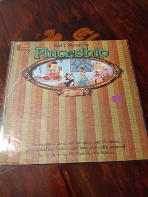 Walt Disney Pinocchio LP Vinyl Record for Sale in Riverside, CA