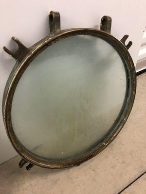 Brass/ bronze porthole window for Sale in San Antonio, TX