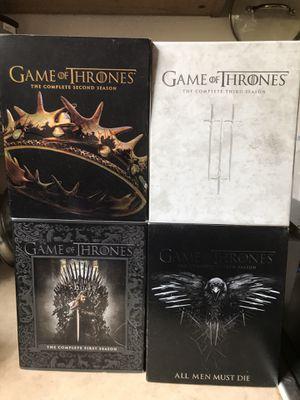 Game of Thrones Blu-Ray Season 1-4 for Sale in Cerritos, CA