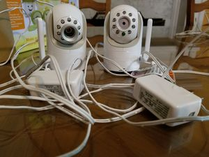 Infant Optics DXR-8 Video Baby Monitor + Extra Camera + Wide Angle Lens for Sale in Alpharetta, GA